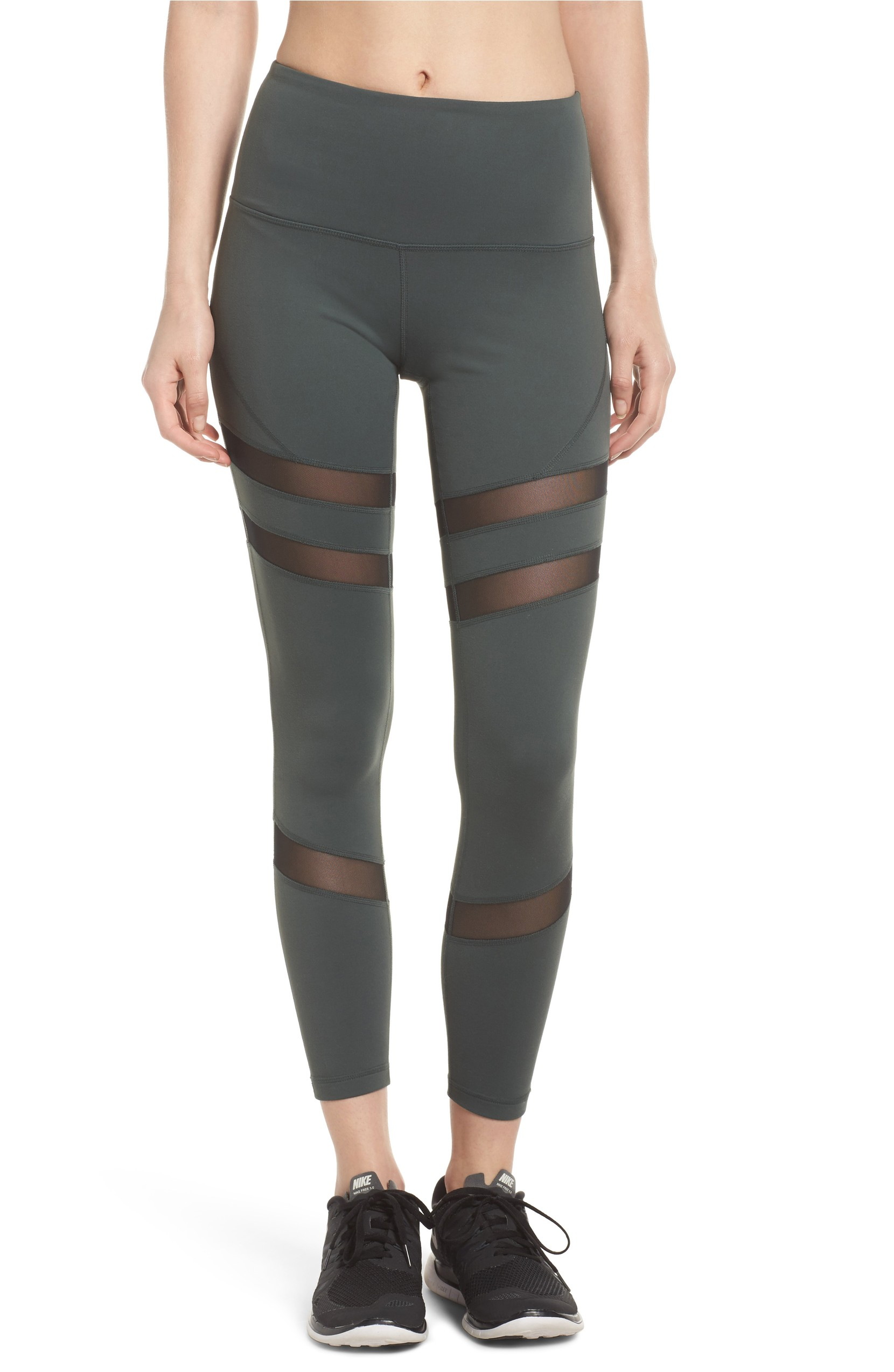 Good Sport High Waist Midi Leggings originally $65 and now $38.98. Figure-sculpting performance fabric inset with cooling mesh keeps you looking and feeling good all workout long.<p><br></p><p>(Image: Nordstrom)</p>