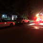 One person hospitalized in East Hernandez Street house fire