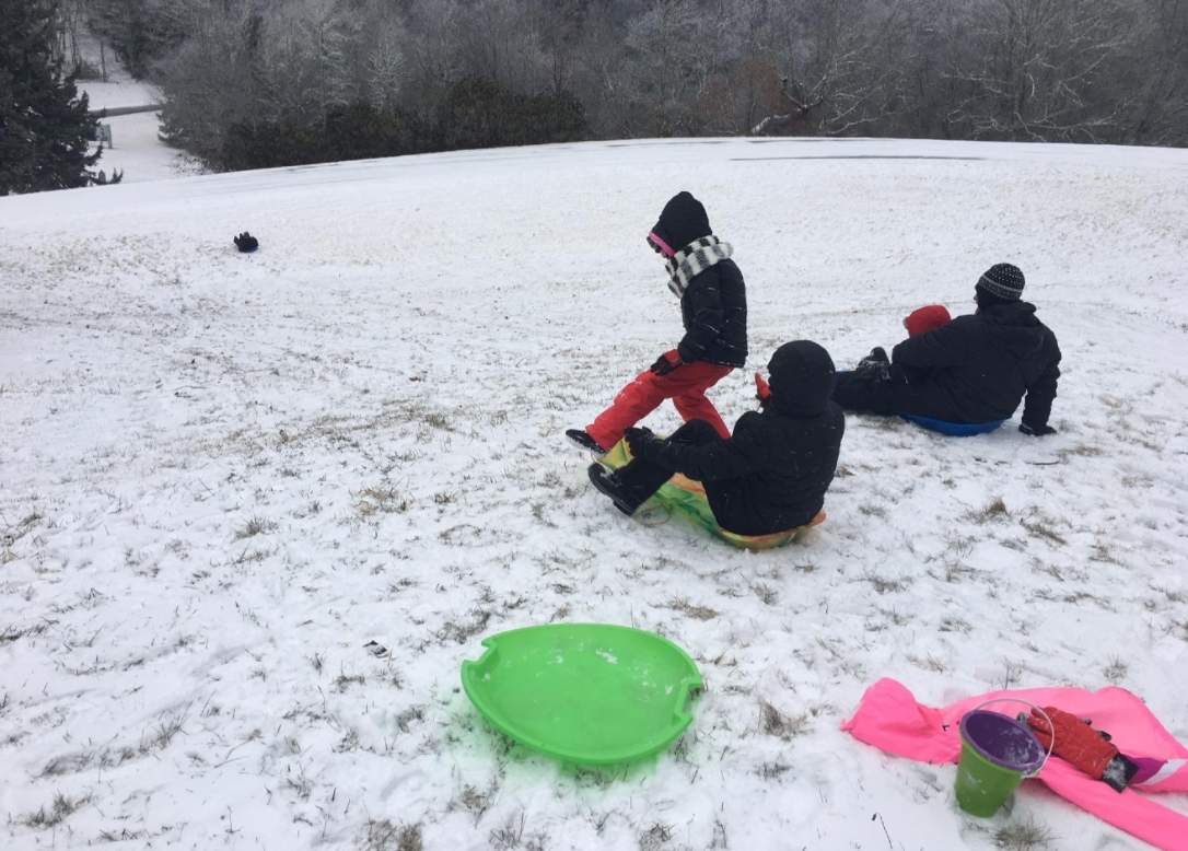 FILE - The cold weather and a chance of snow are good news for those who want to do some sledding. Where's your favorite sledding hill? (Photo credit: WLOS staff)