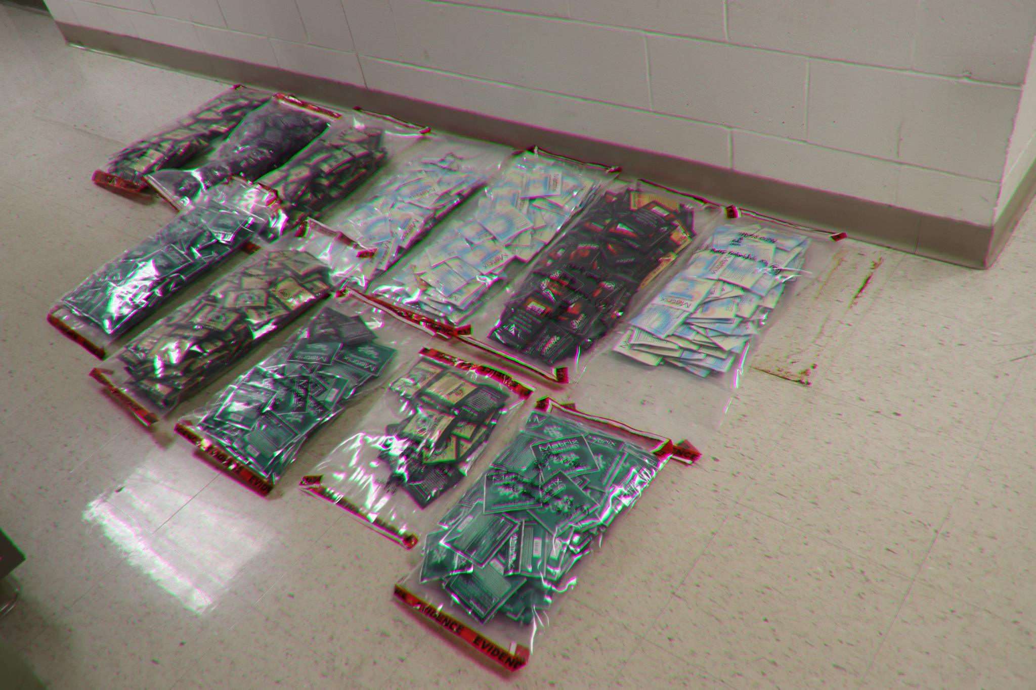 As a result of an investigation, Pekin police were able to take 3500 packets of K2/Spice off the streets. (Pekin Police Department)