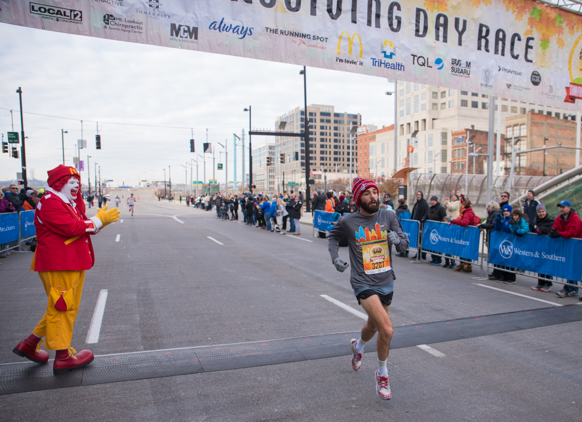 The 108th Western and Southern Thanksgiving Day 10K Run/Walk was held on Thursday, Nov. 23, 2017. / Image: Sherry Lachelle Photography // Published: 11.24.17