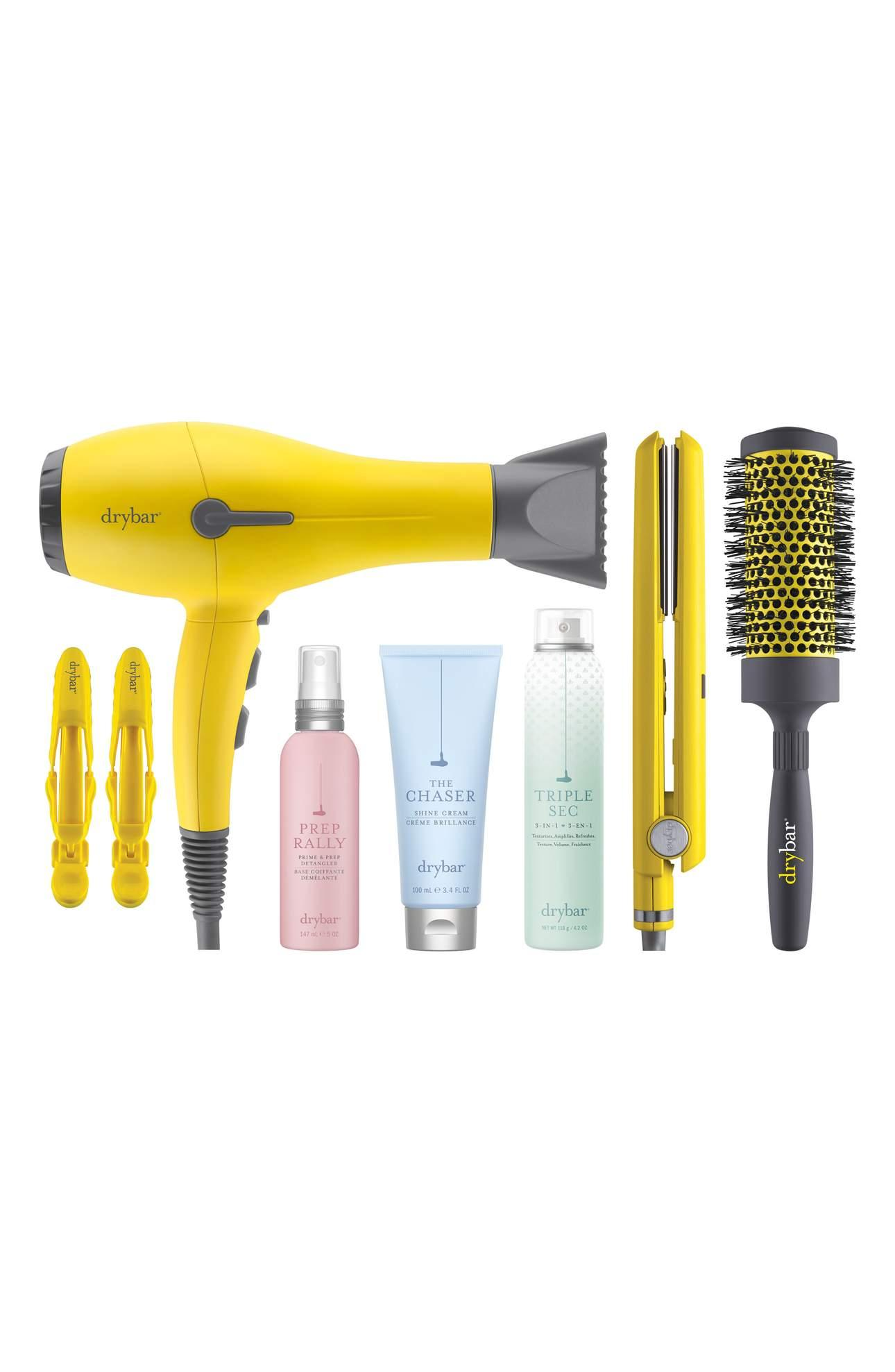 <p>DRYBAR Buttercup Big Bundle Collection - $299. This is a bit of a splurge, but so worth it. DRYBAR is a complete game-changer when it comes to your hair game. Does your lady have a full head of hair? If the answer is yes, BUY THIS. Also note, it's a limited edition set. Cost: $299.00 ($471 Value). (Image: Nordstrom){&amp;nbsp;}<br></p><p></p>