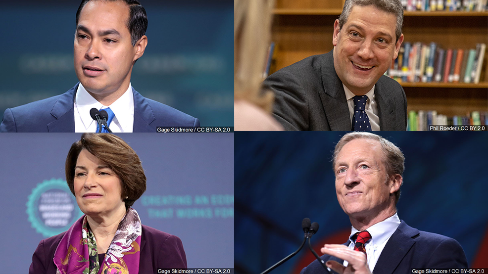4 Democratic presidential candidates to headline annual State Dinner
