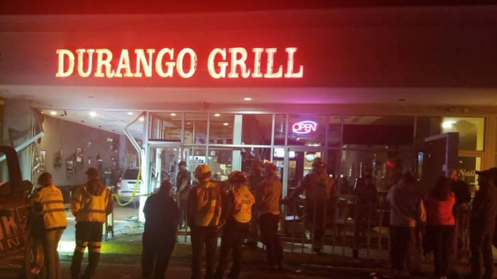 Car Plows Into Popular Restaurant In Fredericksburg Wjla