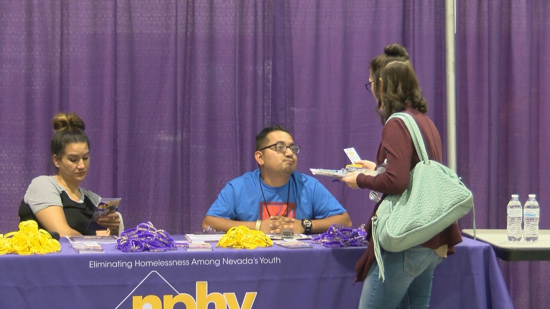 Project Homeless Connect takes place Tuesday, November 14, 2017, at Cashman Center in Las Vegas. The event's purpose is to bring needed services in one, easily accessed location to help individuals overcome barriers to housing and self –sufficiency. (Erin Johnson/KSNV)