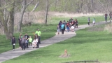 Hundreds come out for Walk MS to raise awareness for Multiple Sclerosis