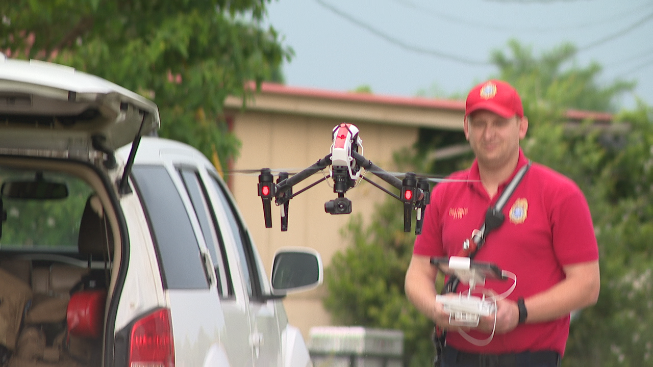 Crews have deployed drones and dog teams as they continue to search on foot. (Image: WTVC)