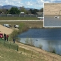 Vehicle plunges into water off Interstate-84, no reported injuries