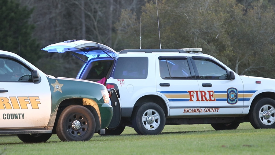 Escambia Sheriff's Office, EMS, and Animal Control responded to the call. Photo: NorthEscambia.com