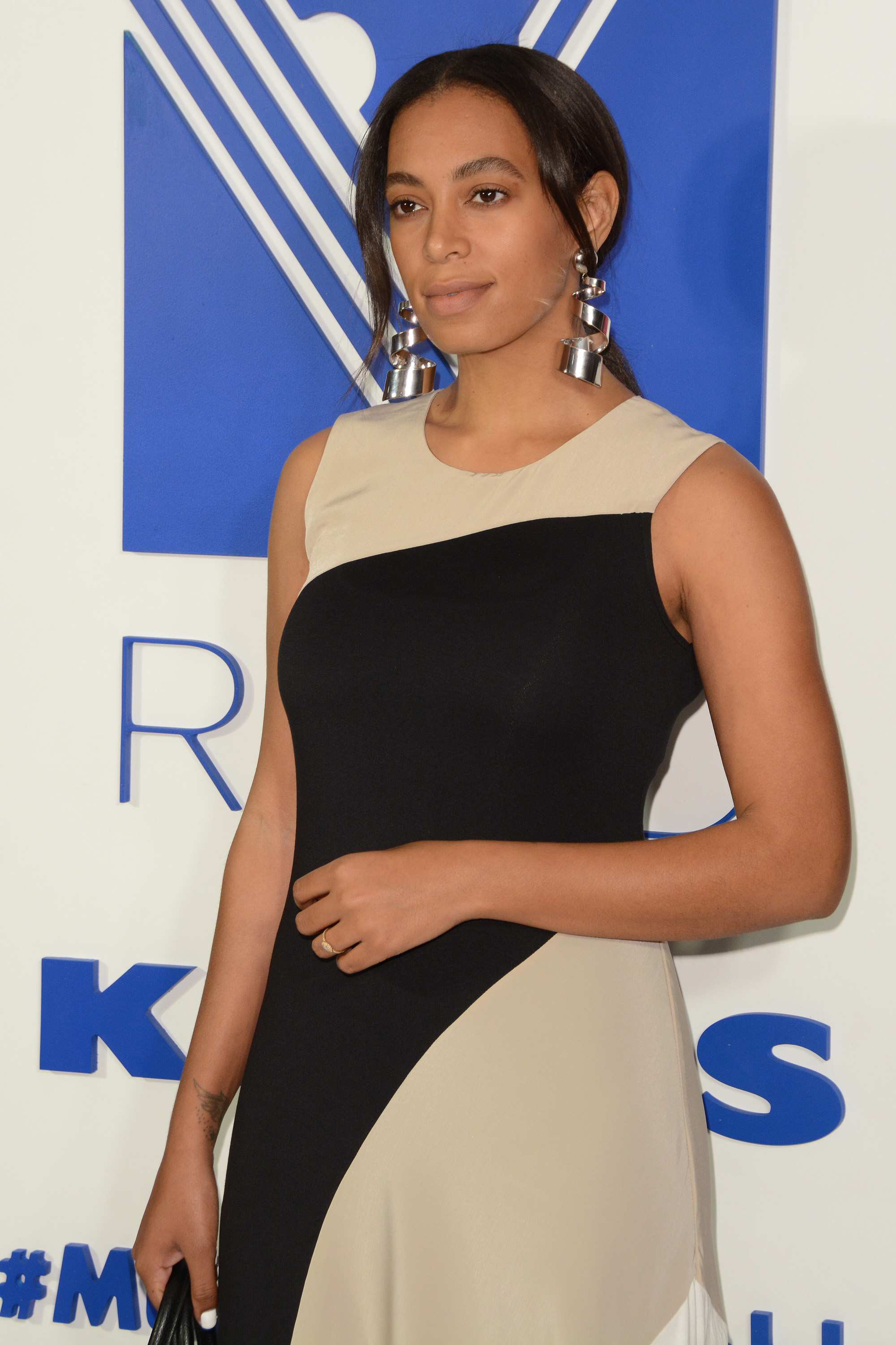 REED and Kohl's Collection Launch Dinner - Red Carpet Arrivals                                    Featuring: Solange Knowles                  Where: New York, New York, United States                  When: 20 Apr 2016                  Credit: Ivan Nikolov/WENN.com