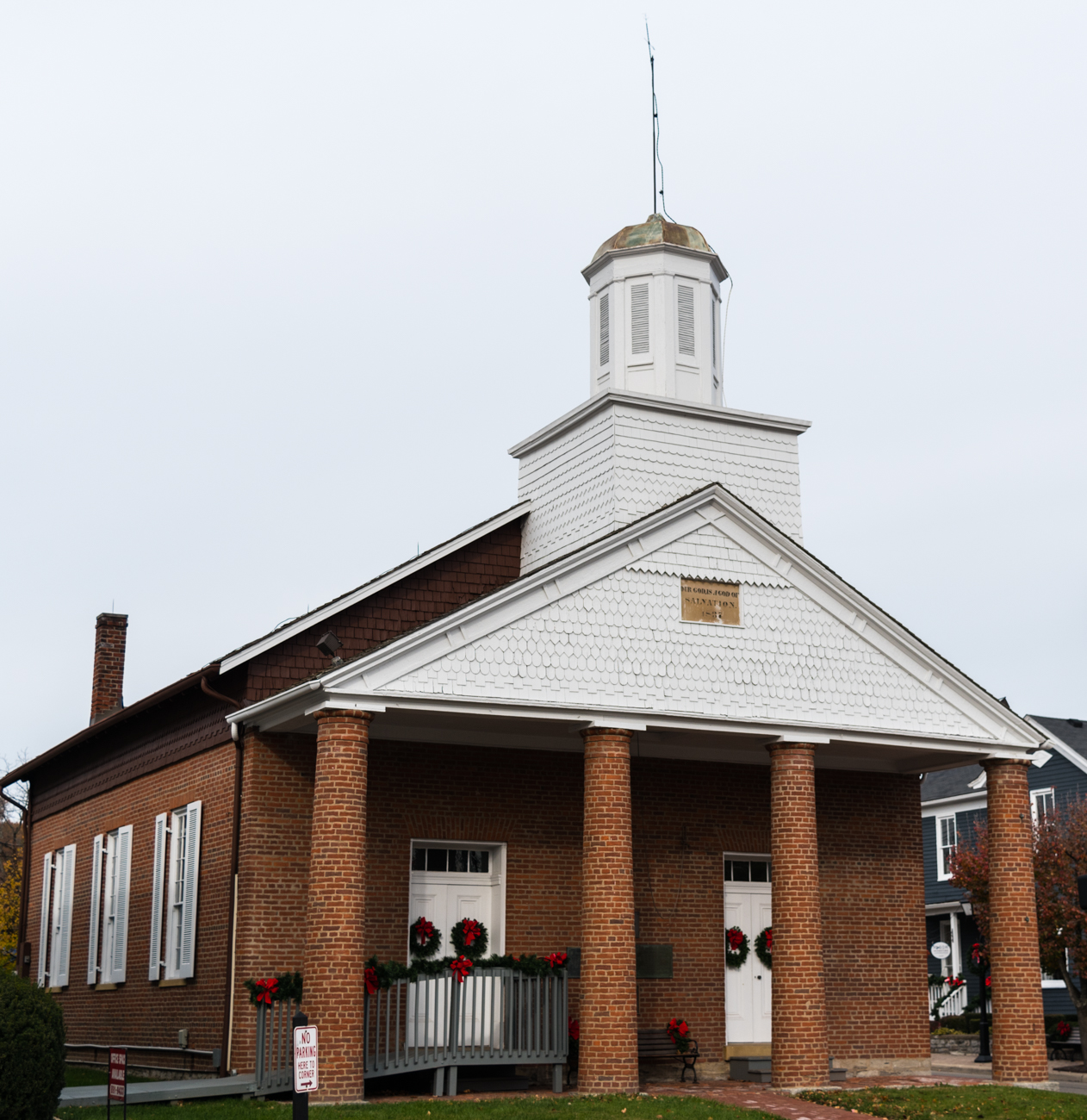 LANDMARK: Universalist Church / BACKGROUND: It was built in 1837 as an alternative to the Hopewell-Montgomery Presbyterian church. The church bell served as the town's fire alarm for many years. / IMAGE: Phil Armstrong, Cincinnati Refined / Published: 11.26.16
