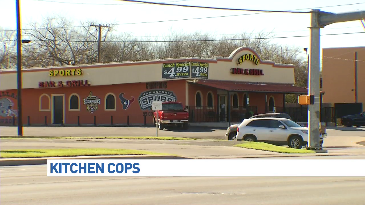 Health inspectors found several violations at El Potosino Mexican Restaurant #1 at 1105 Bandera Road. (News 4 San Antonio Photo)