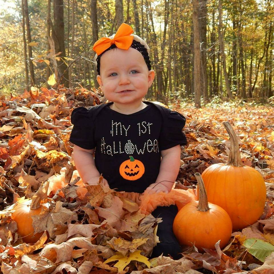 Laura is all ready for her first Halloween! Submitted by Amy Burke