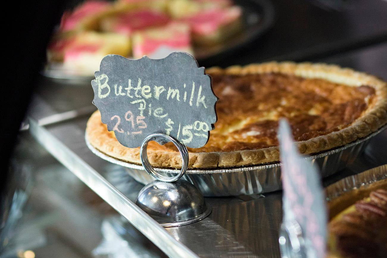 Buttermilk pie{ }/ Image: Allison McAdams // Published: 11.9.18