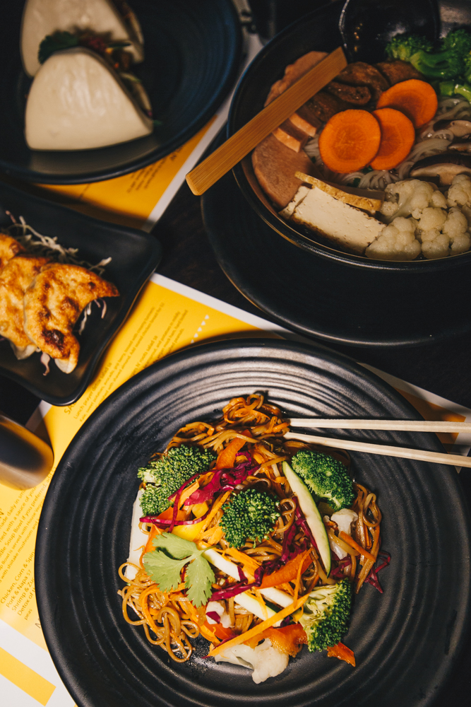 <p>Crzy Monk is owned by the Huit group, which also operates Lalo—a restaurant downtown that blends Asian flavors with Mexican fare. Crzy Monk is open Monday-Friday 11 AM-3 PM and Saturday 12 PM-3 PM. / Image: Catherine Viox // Published: 4.22.19</p>