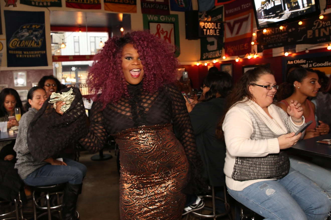 For most of the week, Nellie's is one of D.C.'s most famous LGBT-friendly bars. However their drag brunch is raunchy, raucous and beloved by bachelorettes and birthday girls alike. The Beyonce look-a-like is absolutely worth writing home about. (Amanda Andrade-Rhoades/DC Refined)