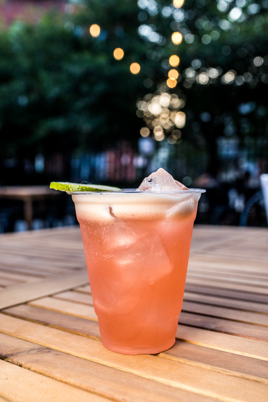 The TJ Harvey: tequila, lime, pineapple, cranberry gomme, and old fashioned bitters / Image: Catherine Viox{ }// Published: 8.3.20