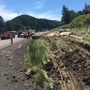 Commercial truck crash kills driver, closes I-5 ramps near Yoncalla
