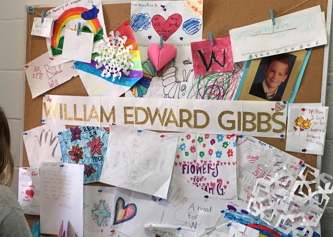 Classmates of William Edward Gibbs, who, along with his brother, was killed in a deadly crash, have expressed their grief and remember their Asheville Catholic School classmate. (Photo credit: WLOS staff)