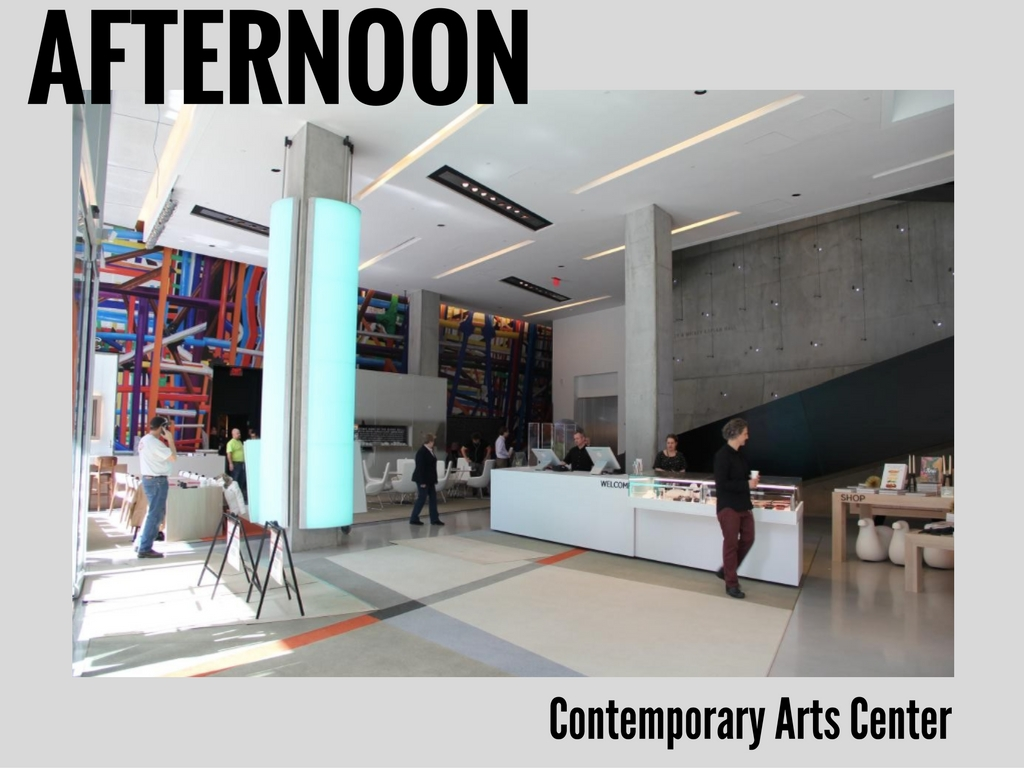 Nothing like a little balance, right? Let's rein the hustle-bustle back in and enjoy a nice, collected visit to one of the most engaging, thought-provoking institutions around. Welcome to the Contemporary Arts Center. / The CAC is located at 44 E 6th St -- 45202 // IMAGE: Clay Griffith, Cincinnati Refined