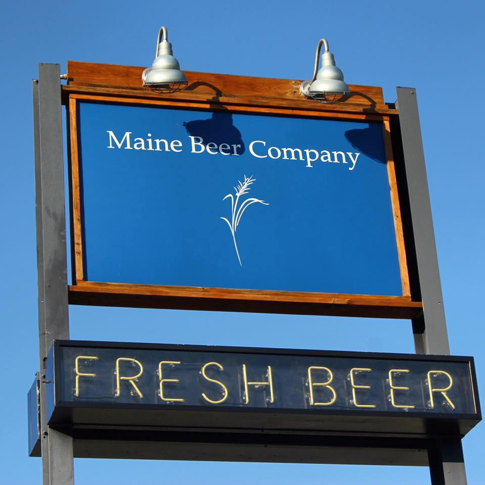 Maine Beer Company is a short drive away and produces great beer. (Image: Courtesy Maine Beer Company)