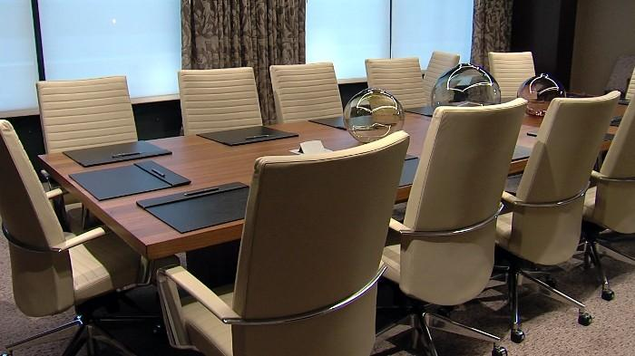Conference room inside the new Westin Hotel in downtown Birmingham, Alabama.