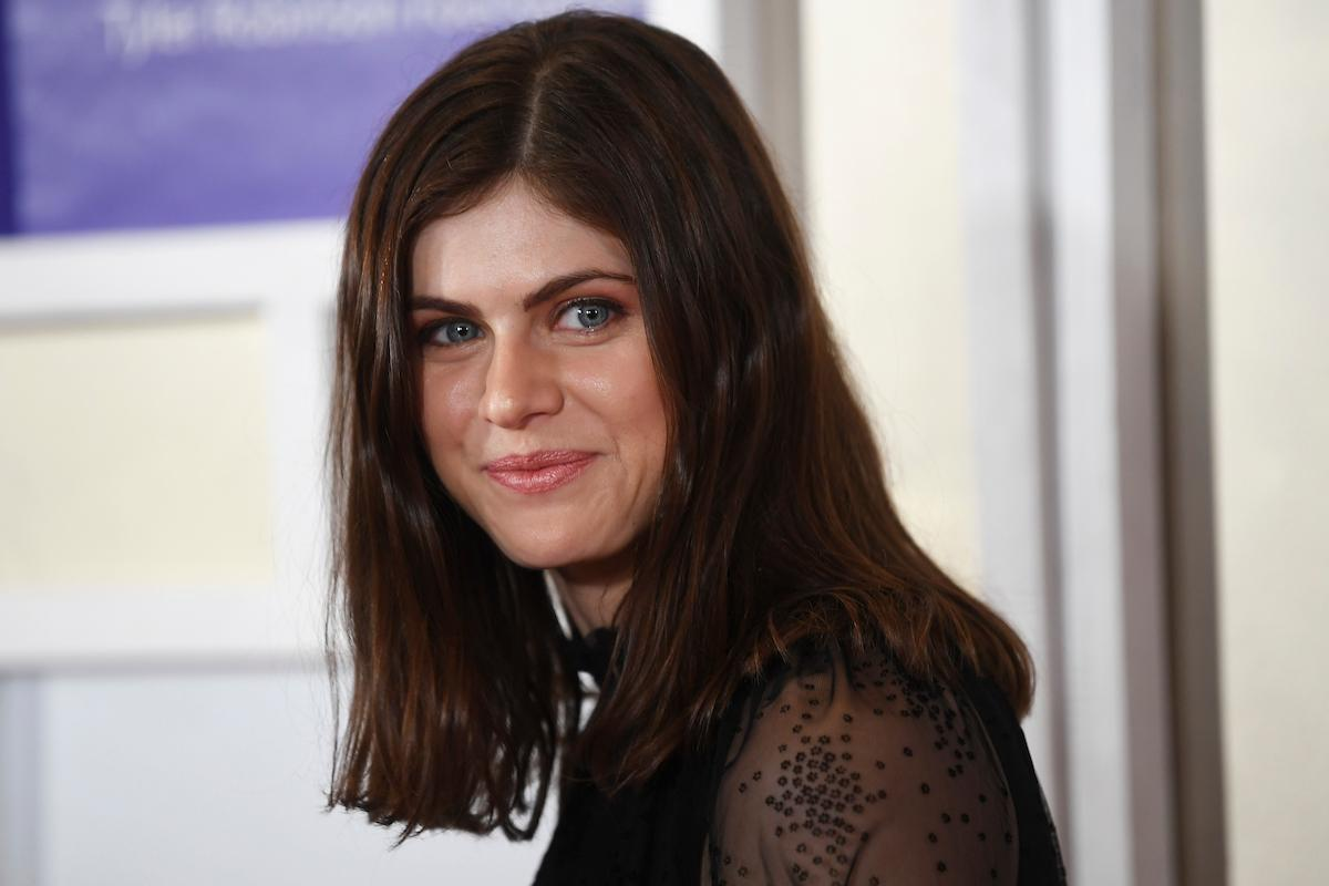 Alexandra Daddario appears on the red carpet for the Rise Up Gala, and event created to raise funds for the Tyler Robinson Foundation, Friday, September 6, 2019, at the Wynn. (Sam Morris/Las Vegas News Bureau)