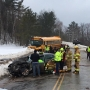 School bus involved in 5-vehicle crash in Kingfield