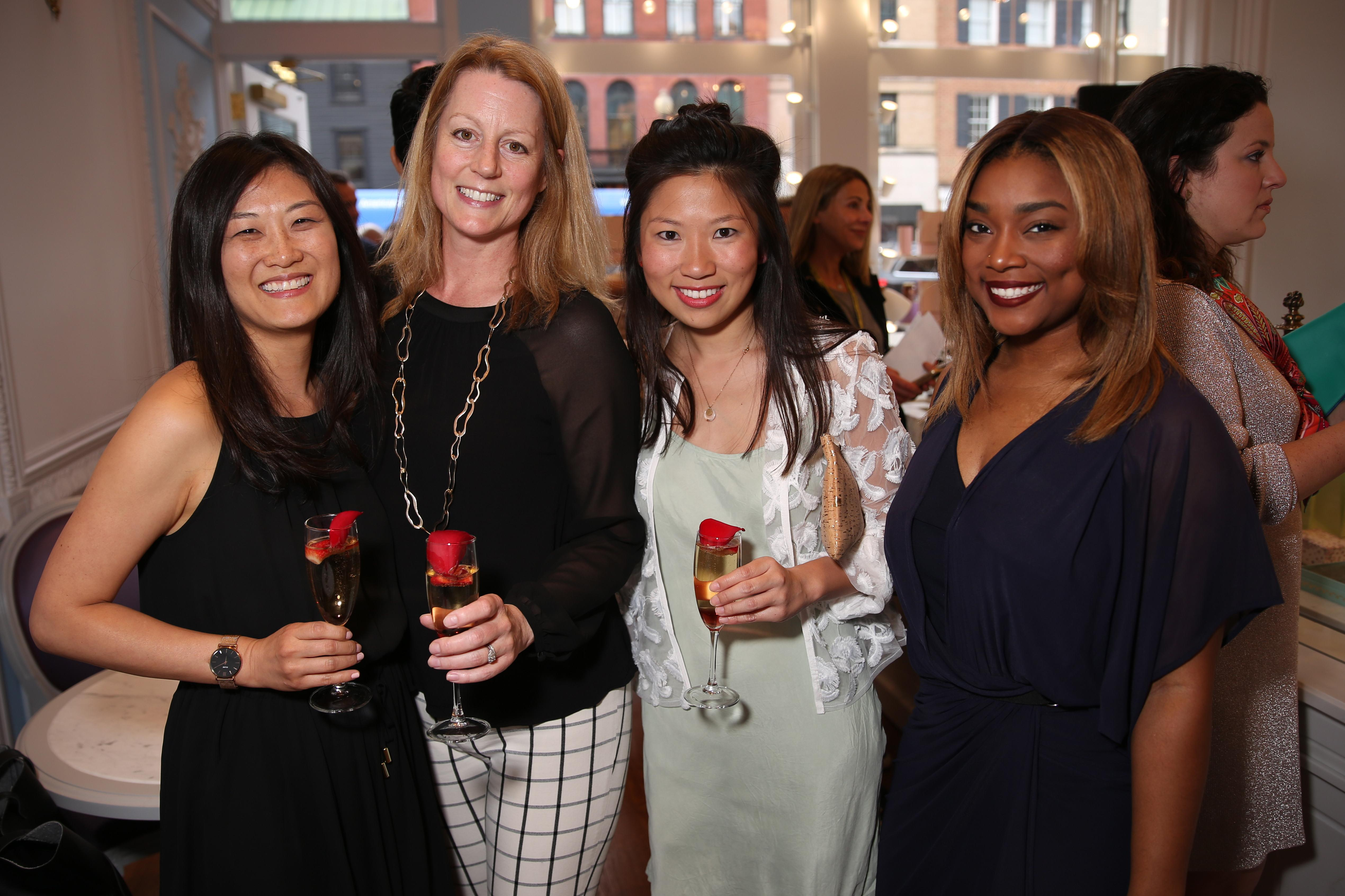 From left, Anne Kim-Dannibale, Brooke Sabin, Rebecca Chin and Angela Bobo. (Amanda Andrade-Rhoades/DC Refined)
