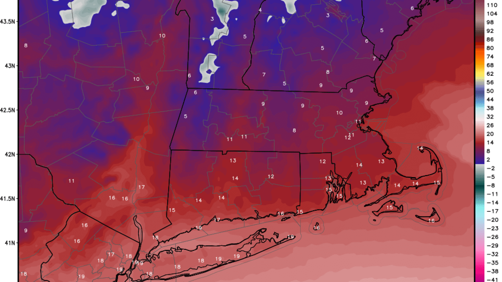 Bitter cold reaches southern New England