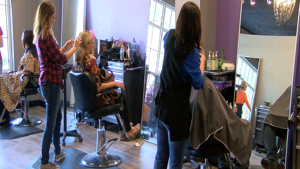 Macon salon joins campaign against domestic abuse wgxa for Salon macon