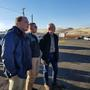 Congressman Dan Newhouse meets with emergency management teams at Rattlesnake Ridge