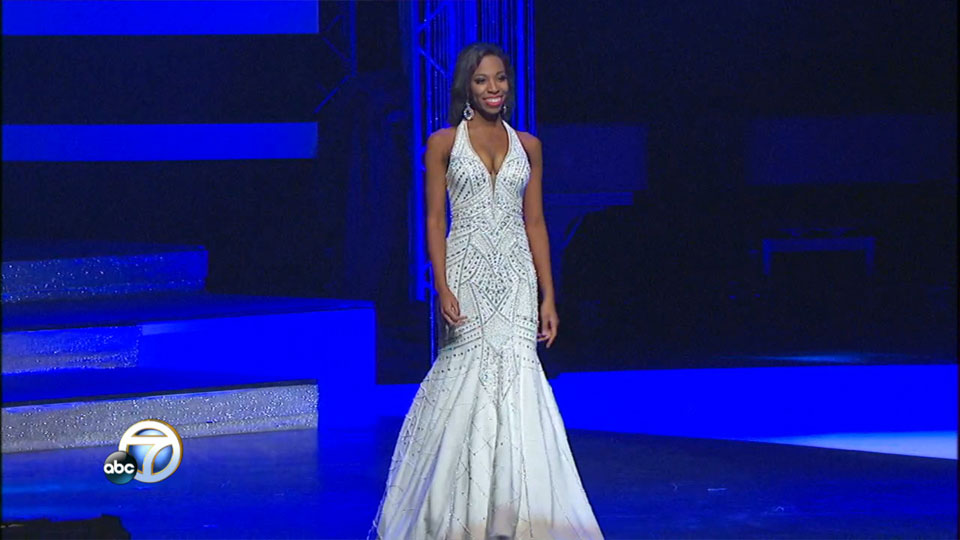 Miss Arkansas Evening gown: Kenzie Williams (KATV photo)