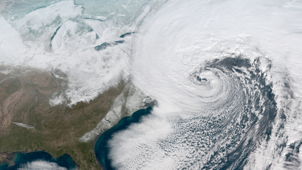 Bomb Cyclone drops up to a foot of snow over the Northeast, Bitter Chills Next