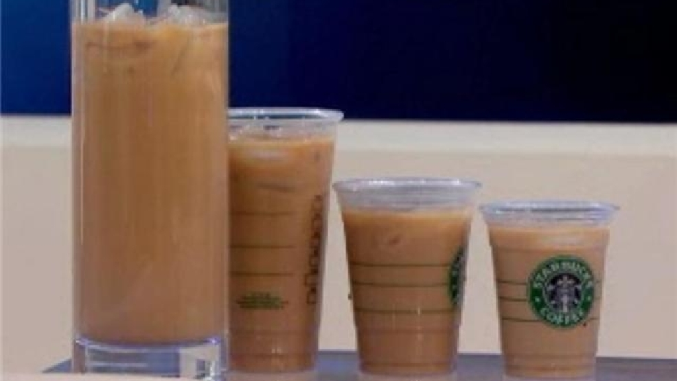 Too big? Starbucks drink same size as your stomach | KRCG
