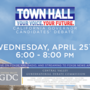 First Valley-hosted Gubernatorial Debate Wednesday 6PM