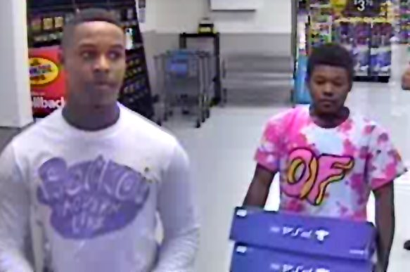 Round Rock Police are asking for the public's help in identifying two car burglary suspects. (Photo courtesy: Round Rock Police Department)
