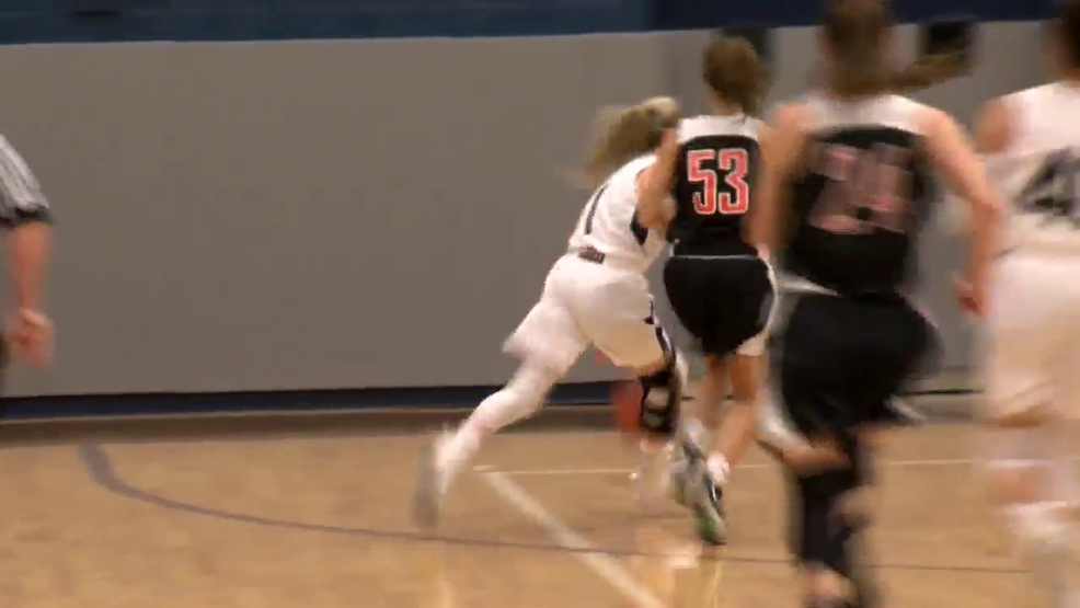 1.9.19 Highlights - Linsly vs Madonna - girls basketball