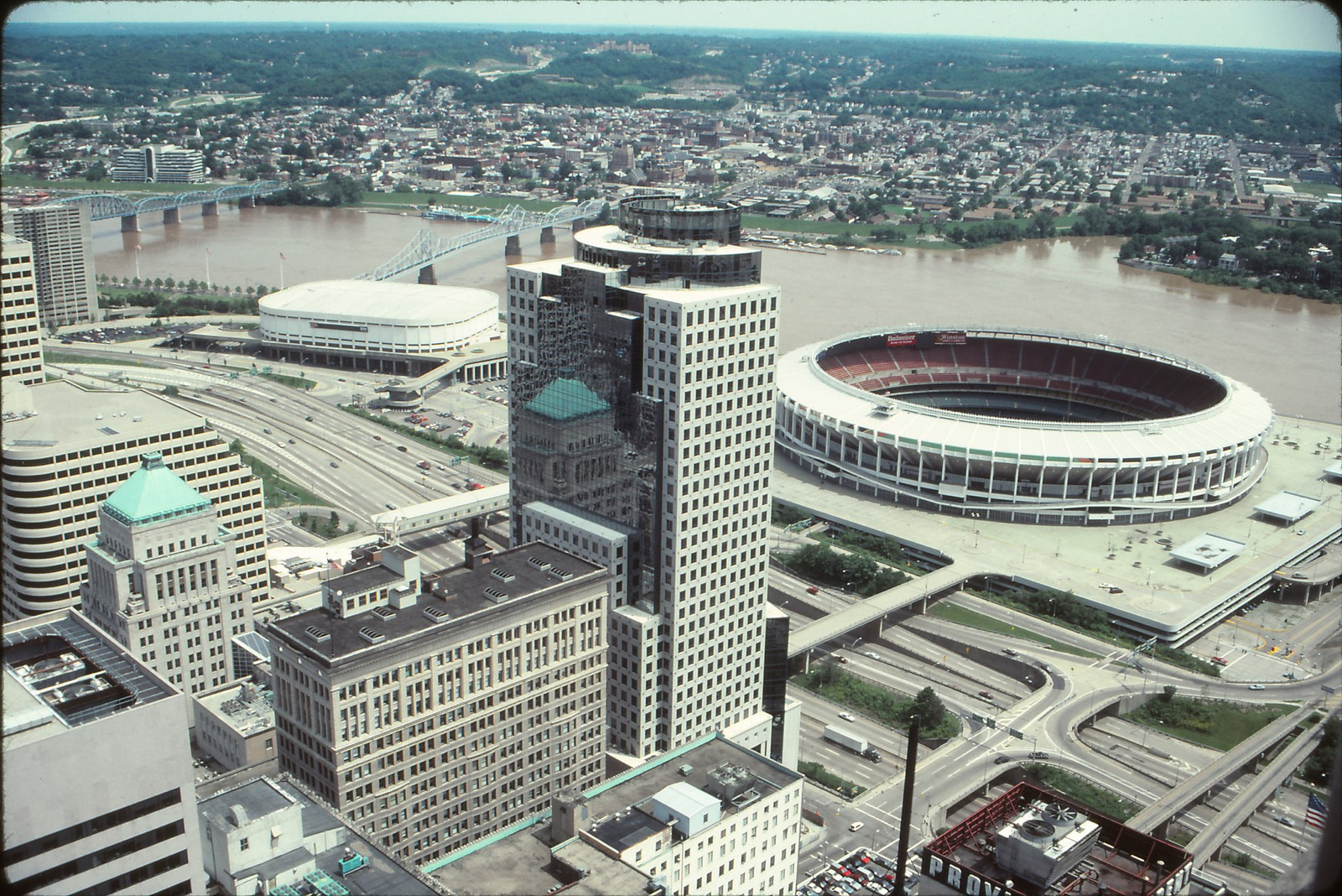Riverfront Stadium, Downtown / Image courtesy of Flickr user mplstodd // Published: 3.12.18