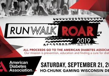 Run Walk Road 2019 - Benefit to the American Diabetes Association