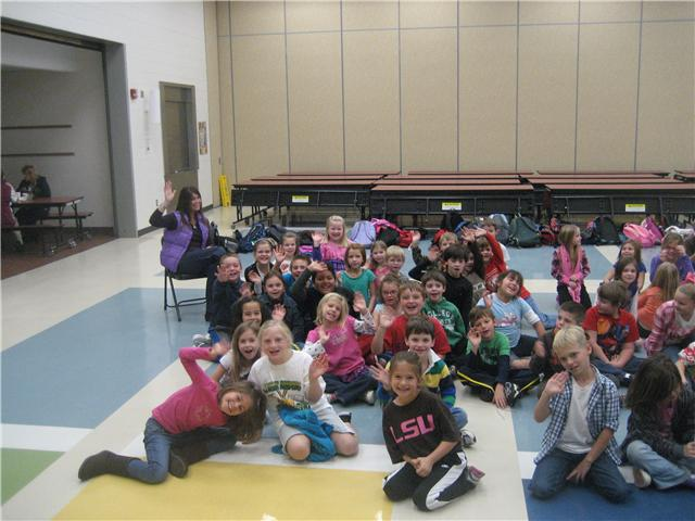 11/17/10...Pleasant Hill Elementary Second Graders