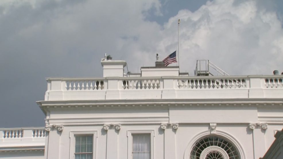 White House lowers flag to half-staff for McCain again after