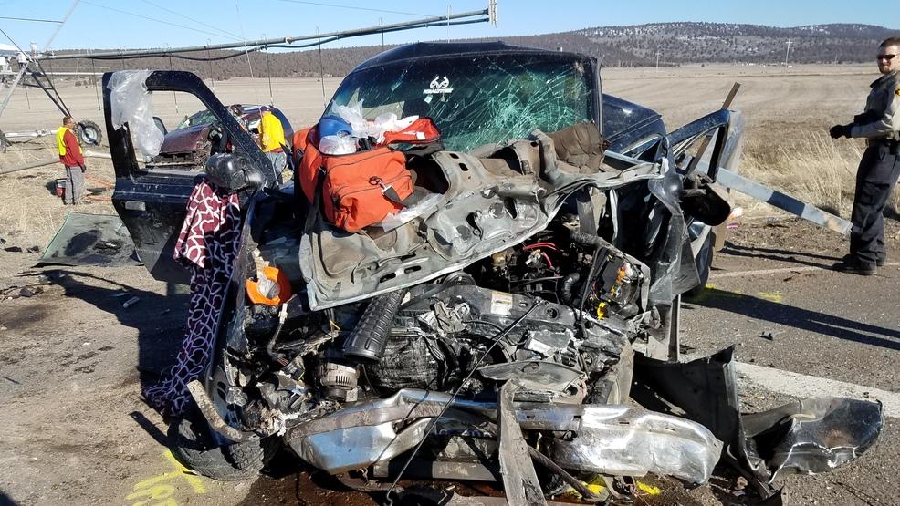 Man dies in crash after one vehicle misses stop sign | KTVL