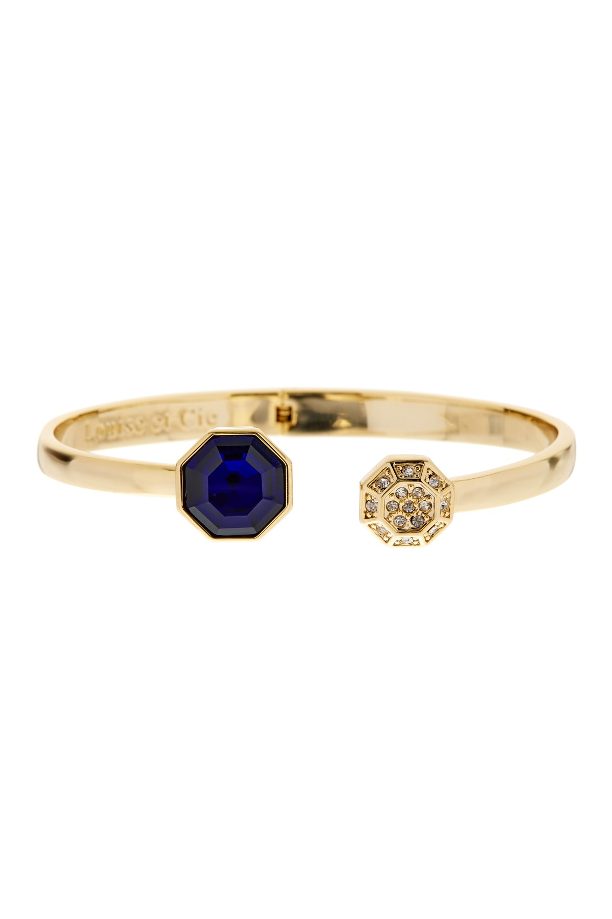 Louise et Cie Jewelry Double octagon Hinged Bracelet ($29.97). It's time to celebrate Momma.  Here is our Nordie's gift guide for items under $50! (Image: Nordstrom)