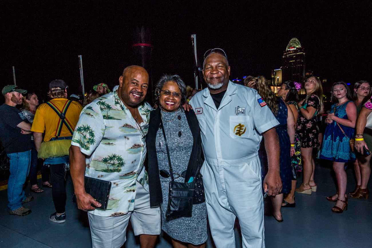 Andre Baker, Renee Johnson, and Azagba Johnson /{ }Image: Catherine Viox // Published: 8.11.19