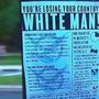Racist flyers posted on poles, cars near nation's capital
