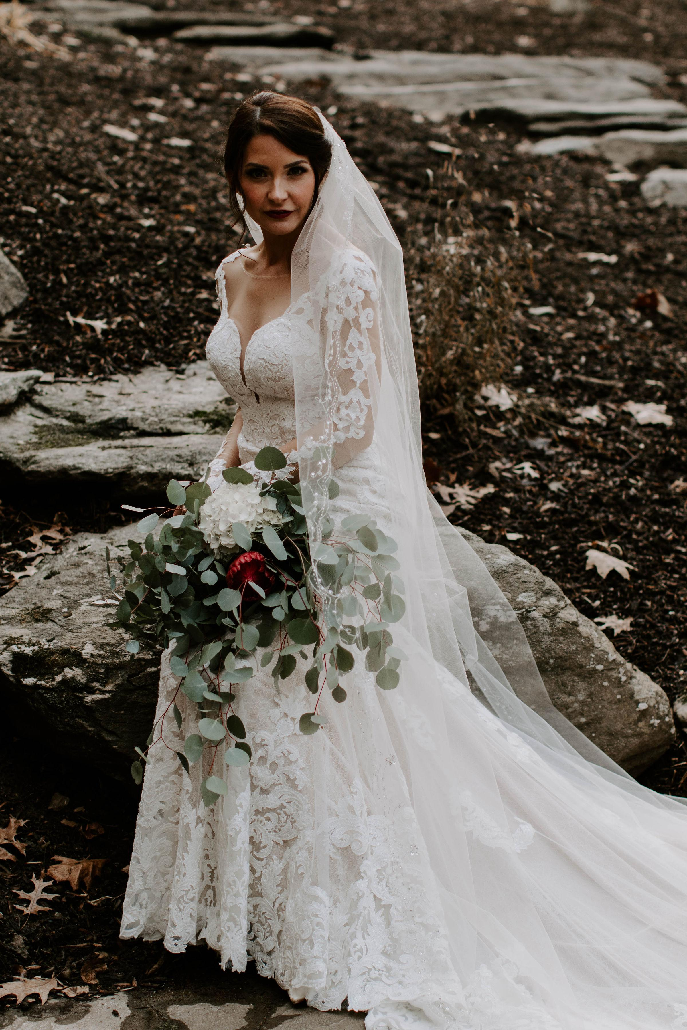 Florist: Monica's Floral Design (Image:{ }Lizz McConeghey)