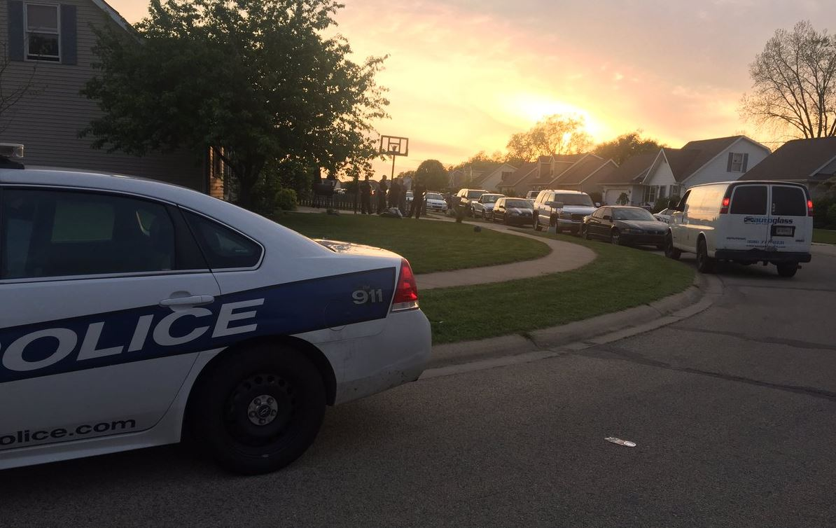 Shooting investigation Saturday in the 2200 block of Edward Drive in Goshen // WSBT 22 photo