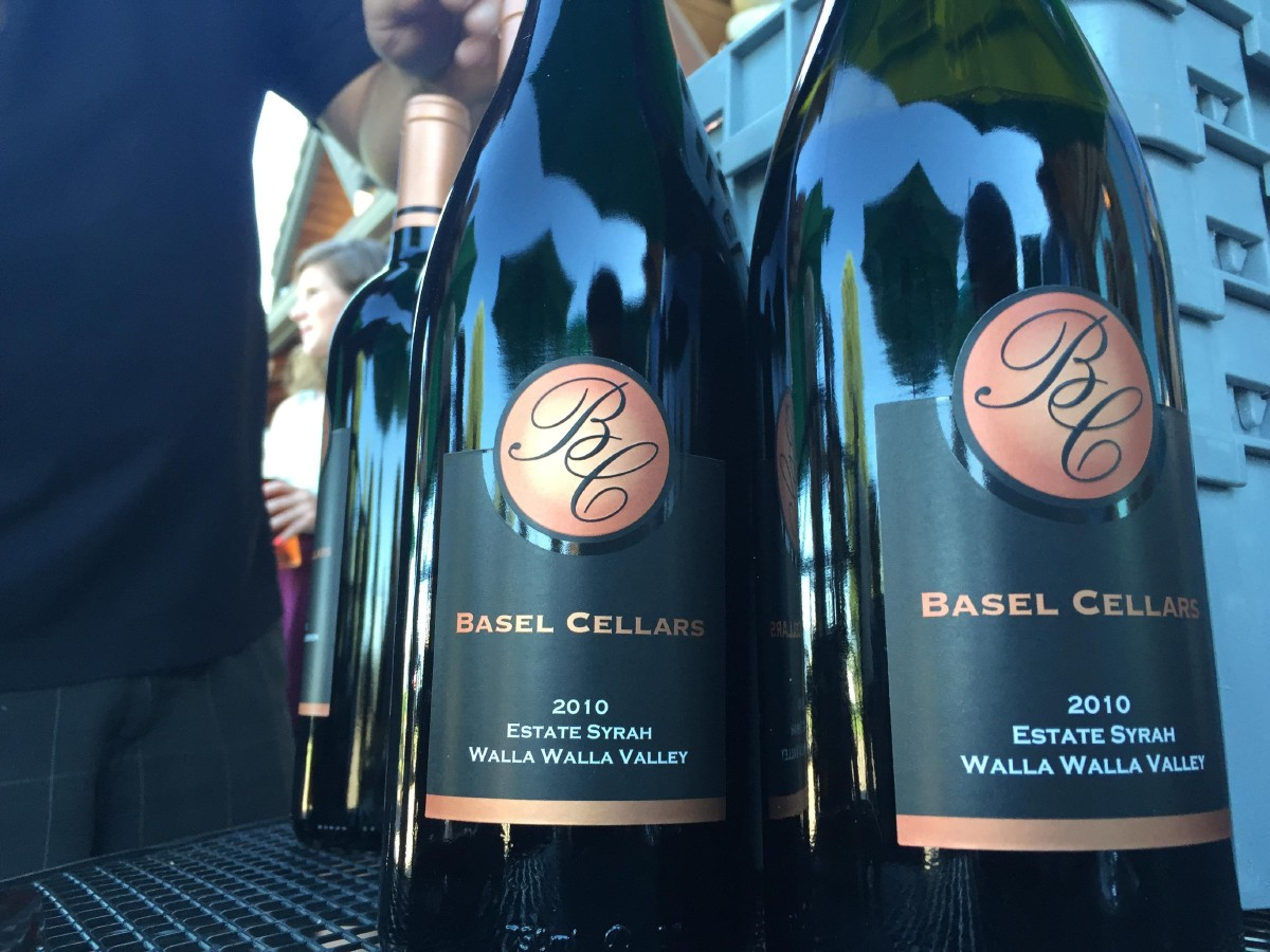Basel Cellars' Estate Syrah. (Image: Frank Guanco)