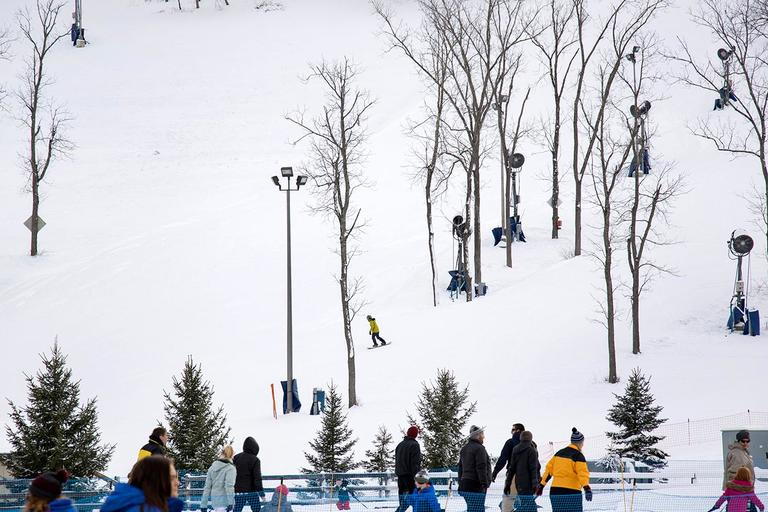 Tubes are provided and a surface lift is available for you to ride up the hill. / Image: Allison McAdams // Published: 1.17.18<p></p>